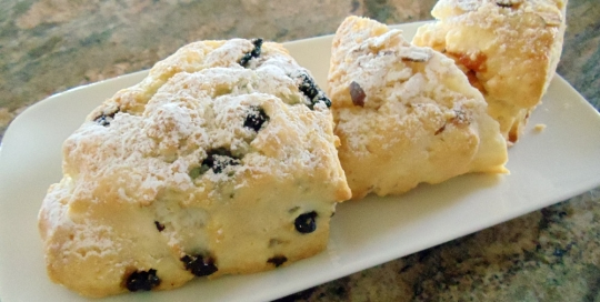 Hand-Mixed Scone